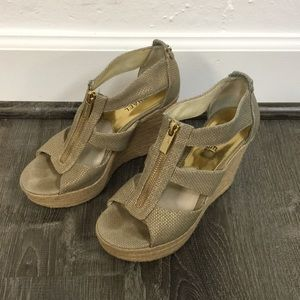 MICHAEL Michael Kors Shoes - MICHAEL Michael Kors Damita Platform Wedge Sandals